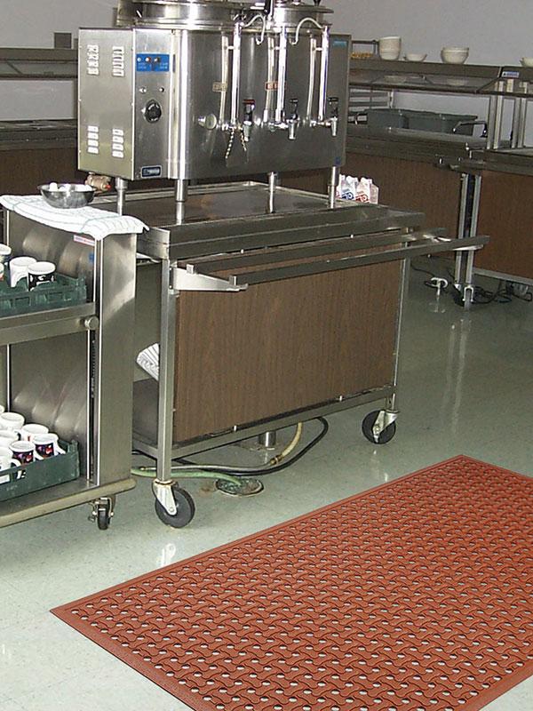 "Superflow Anti-Fatigue Kitchen Floor Mat - 5/8"" - FloorMatShop.com - Commercial Floor Matting & Carpet Products"