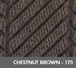 Andersen [2271] WaterHog™ ECO Elite Roll Goods Indoor Scraper/Wiper Entrance Floor Mat - Chestnut Brown - 175