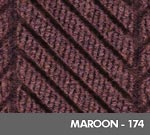 Andersen [2271] WaterHog™ ECO Elite Roll Goods Indoor Scraper/Wiper Entrance Floor Mat - Maroon - 174