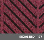 Andersen [2271] WaterHog™ ECO Elite Roll Goods Indoor Scraper/Wiper Entrance Floor Mat - Regal Red - 177