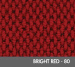 Andersen [2282] Berber Roll Goods Scraper/Wiper Entrance Mat - Bright Red - 80
