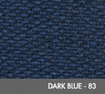 Andersen [2282] Berber Roll Goods Scraper/Wiper Entrance Mat – Dark Blue - 83