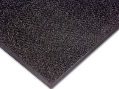 Chevron Patterned Indoor Scraper Wiper Entrance Mat