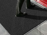 Heavy-Duty Vinyl-Loop Outdoor Floor Mat
