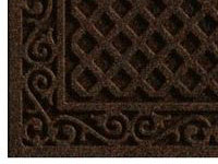 "Textures Lattice Door Mat - Walnut - 30"" x 18"""
