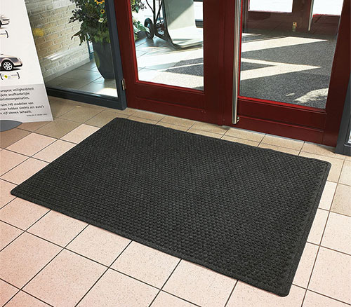 Aqua Trap Indoor Scraper Entrance Mat Rubber Backing 3