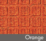 WaterHog Classic Indoor/Outdoor Scraper/Wiper Entrance Mat - Orange - 167