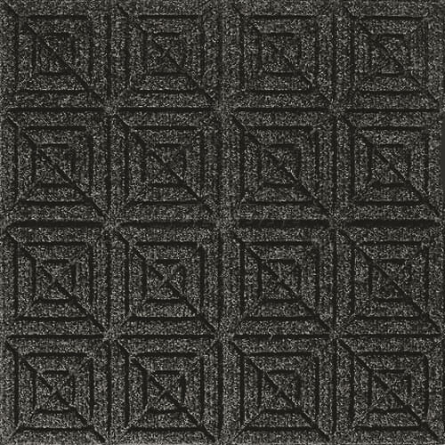 Andersen [221] WaterHog™ Fashion Diamond Indoor/Outdoor Scraper/Wiper Entrance Floor Mat - Charcoal - 154