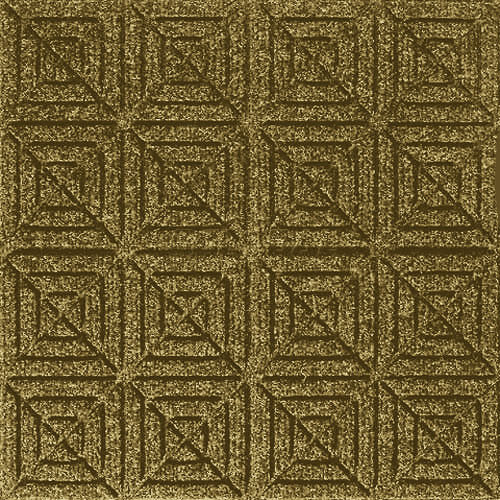 Andersen [221] WaterHog™ Fashion Diamond Indoor/Outdoor Scraper/Wiper Entrance Floor Mat - Gold - 164