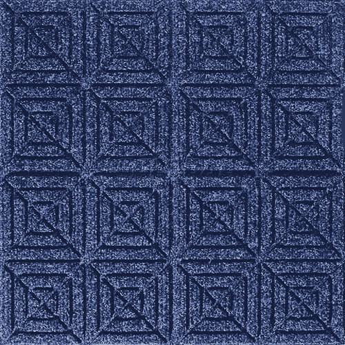 Andersen [221] WaterHog™ Fashion Diamond Indoor/Outdoor Scraper/Wiper Entrance Floor Mat - Medium Blue - 156