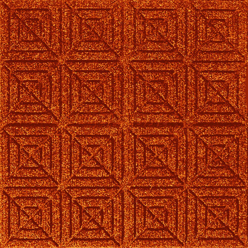 Andersen [221] WaterHog™ Fashion Diamond Indoor/Outdoor Scraper/Wiper Entrance Floor Mat - Orange - 167