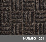 Andersen [265] WaterHog™ Masterpiece™ Select Indoor Scraper/Wiper Entrance Floor Mat - Nutmeg - 231