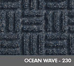 Andersen [265] WaterHog™ Masterpiece™ Select Indoor Scraper/Wiper Entrance Floor Mat - Ocean Wave - 230