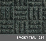 Andersen [265] WaterHog™ Masterpiece™ Select Indoor Scraper/Wiper Entrance Floor Mat - Smoky Teal - 234