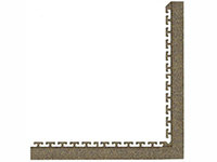 "Waterhog Modular Tile Square 18"" Corner Border"