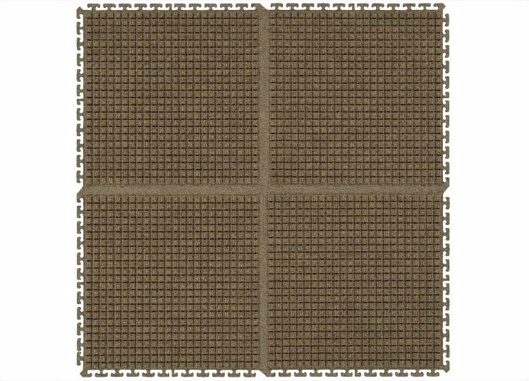 Waterhog Modular Tile Square Entrance Mat Floormatshop