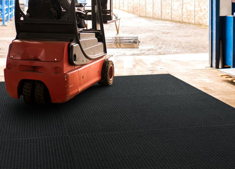Waterhog Lift Truck And Fork Truck Industrial Floor Mat