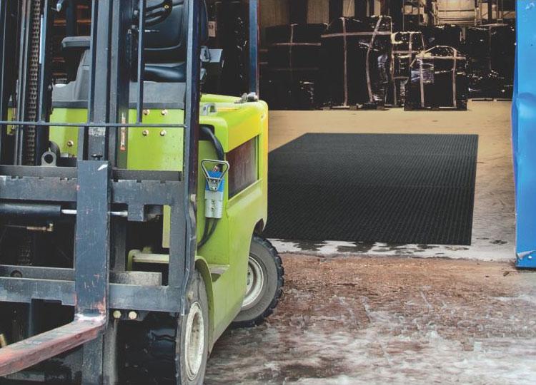Waterhog Lift Truck And Fork Truck Industrial Floor Mat