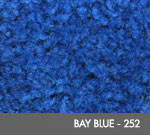 Andersen [125] ColorStar™ Solution Dyed Indoor Wiper/Finishing Floor Mat - Nylon Face - Rubber Backing - Bay Blue - 252