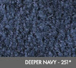Andersen [125] ColorStar™ Solution Dyed Indoor Wiper/Finishing Floor Mat - Nylon Face - Rubber Backing - Deeper Navy - 251*