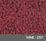 Andersen [125] ColorStar™ Solution Dyed Indoor Wiper/Finishing Floor Mat - Nylon Face - Rubber Backing - Wine - 273*