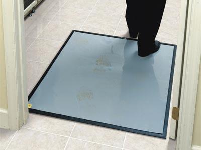 Clean Stride Indoor Adhesive Wiper Finishing Floor Mat Frame
