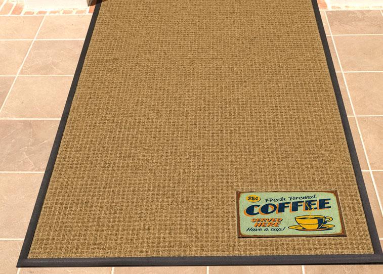 Waterhog Signature Entrance Custom Logo Floor Mat