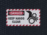 Andersen Hog Heaven Hands Clear Sign Mat