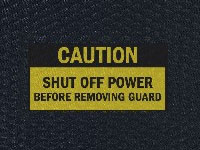Hog Heaven Shut Off Power Sign Mat