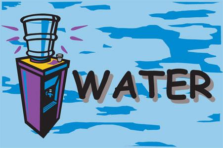 2 X 3 Water Cooler Blue Message Mat Floormatshop Com