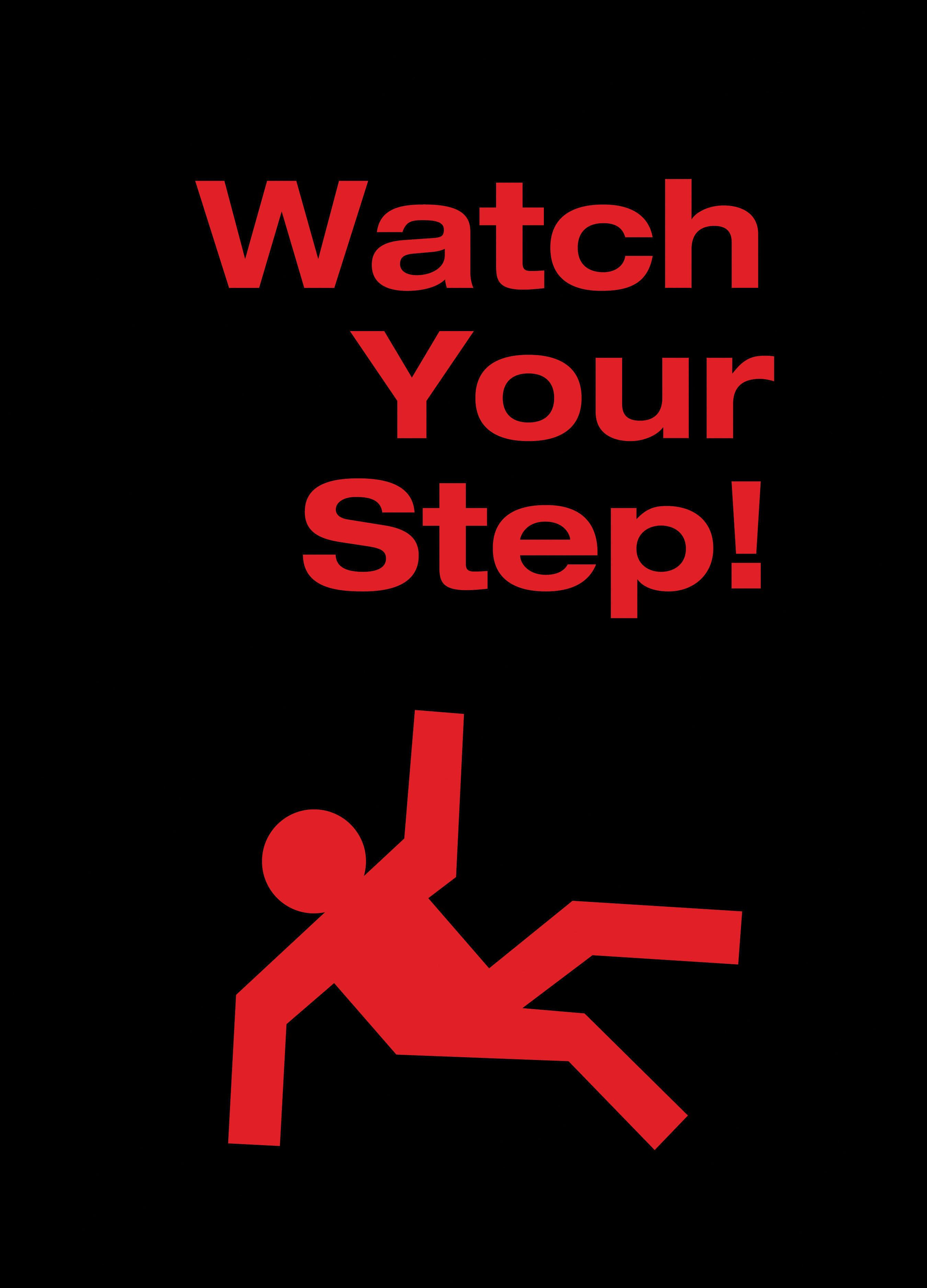 Safety Message Floor Mat Watch Your Step Floormatshop