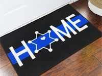 Deputy Sheriff Star Welcome Doormat - 2' x 3' GM-19016811