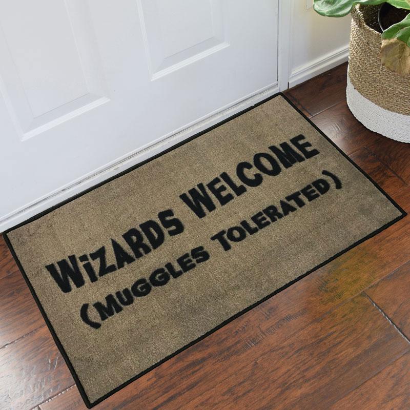 Harry Potter Wizards Welcome Novelty Floor Mat