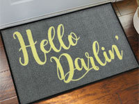 Hello Darlin' Welcome Doormat - 2' x 3' GM-19017369