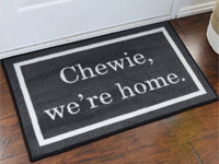 Chewie We're Home Starwars Novelty Welcome Mat