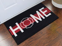 Firefighter Support Welcome Home Doormat