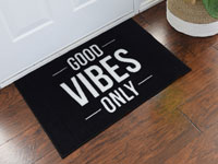2' x 3' Good Vibes Only Door Mat