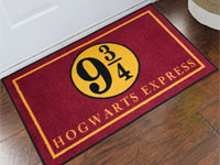 Harry Potter Platform 9 3/4 Hogwarts Express Welcome Mat