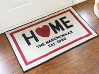 "Custom Home Door Mat - 22"" x 32"" GM-CUSTHOME"