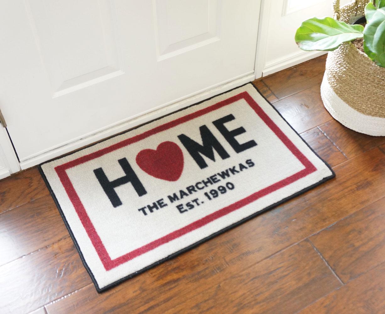 custom home door mat floormatshop com commercial floor matting
