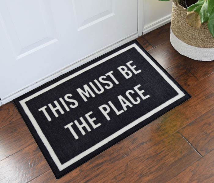 Talking Heads This Must Be The Place Novelty Door Mat