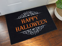 "Happy Halloween Door Mat - 22"" x 32"""