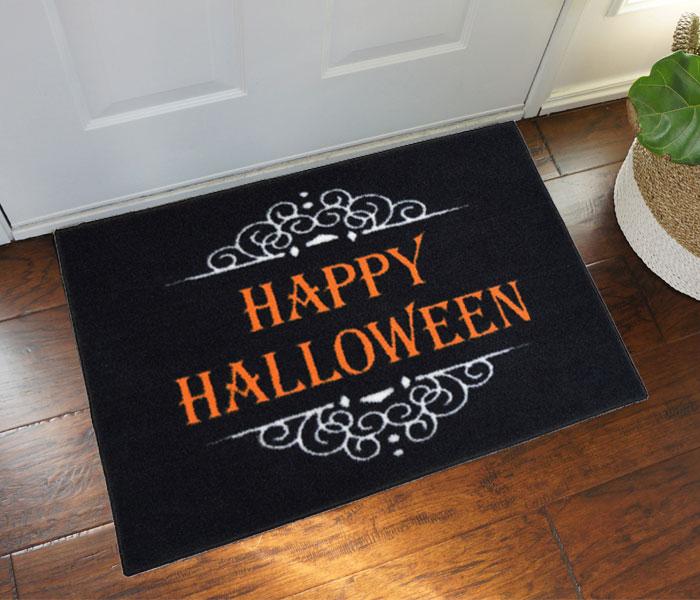 Happy Halloween Door Mat Floormatshop Com Commercial