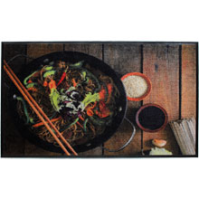 Asian Food HD Carpet Mat - 3' x 5' GM-19026644PALRUB