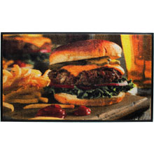 Cheeseburger HD Carpet Mat - 3' x 5' GM-19026635PALRUB