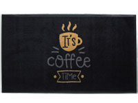 It's Coffee Time HD Carpet Mat - 3' x 5' GM-19026076PALRUB