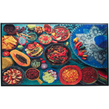 Mexican Food HD Carpet Mat - 3' x 5' GM-19026657PALRUB