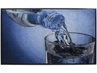 Water Glass HD Carpet Mat - 3' x 5' GM-19026082PALRUB