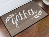 Harvest Gather Holiday Door Mat