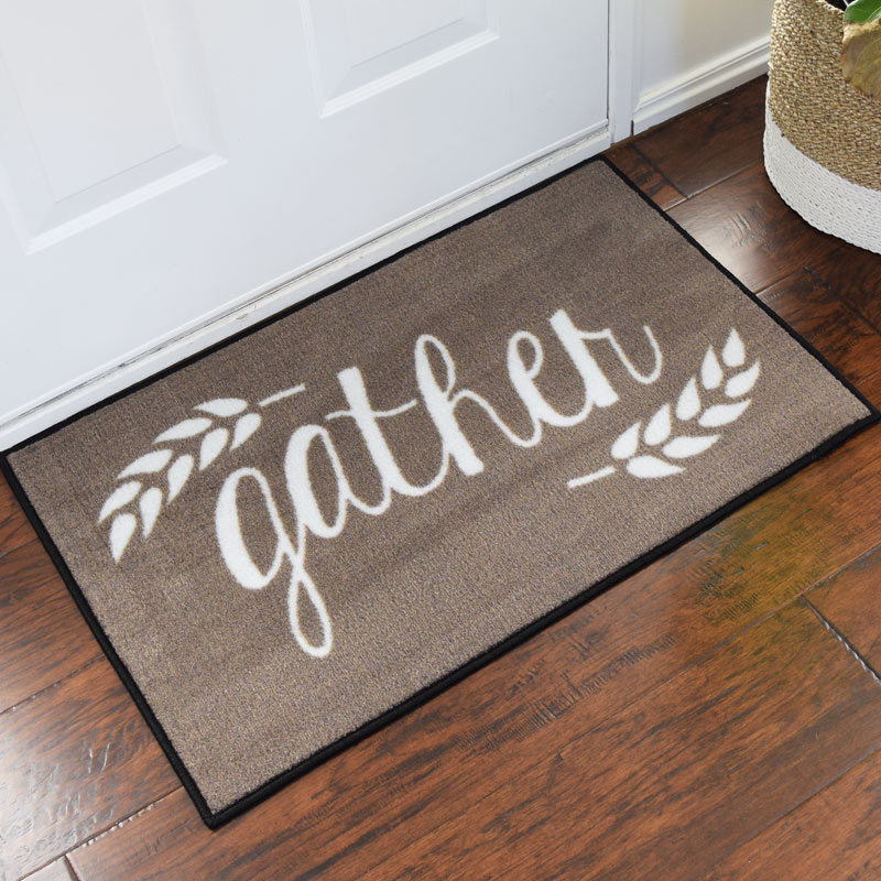 Merveilleux Gather Harvest Welcome Door Mat   2u0027 X 3u0027